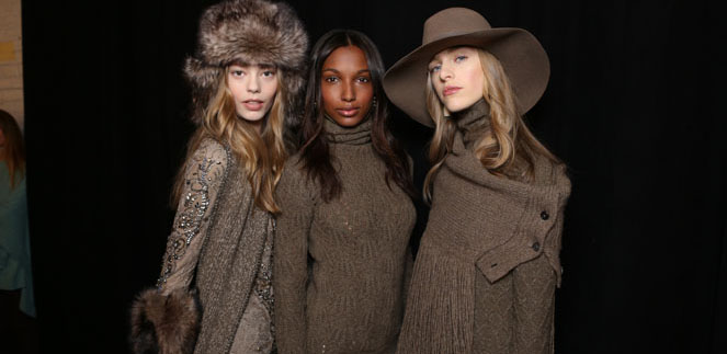 Ralph Lauren apresenta Collection Fall 2015/2016 durante a New York Fashion Week