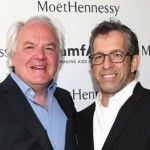 Christophe Nasvarre and Kennet Cole moethennessy-amfar-new-global-partnership