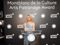 Montblanc Honors Peter M. Brant For The 24th Montblanc De La Culture Arts Patronage Award
