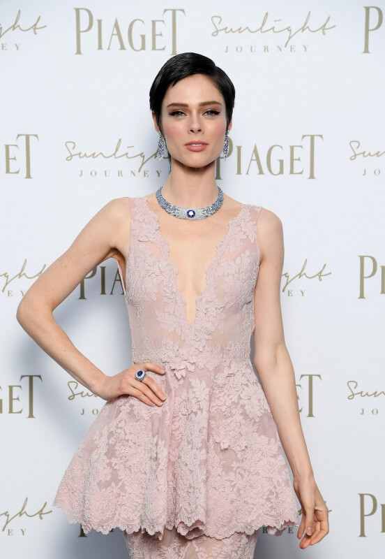 ROME, ITALY - JUNE 13:  Coco Rocha attends Piaget Sunlight Journey Collection Launch on June 13, 2017 in Rome, Italy.  (Photo by Venturelli/Getty Images)