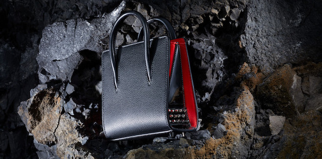 "Christian Louboutin lança sua nova ""It bag"" a Paloma Ultra Black"