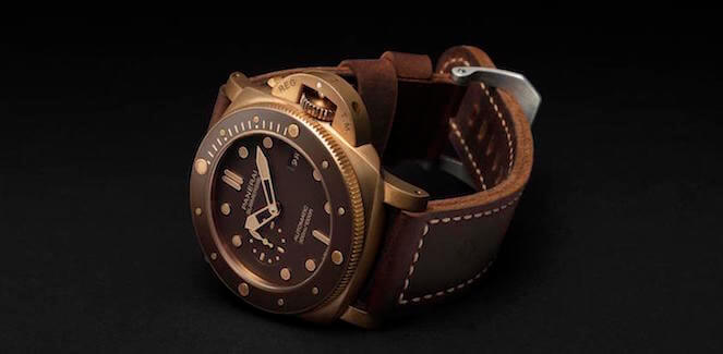 Novo Panerai Submersible Bronzo : O Original